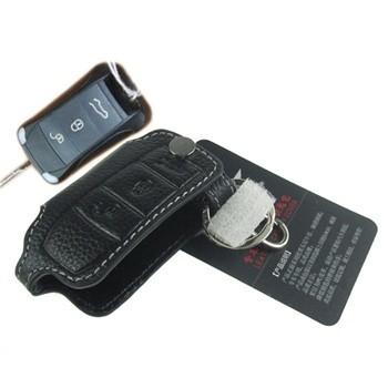 保时捷专车专用真皮钥匙包kz-035