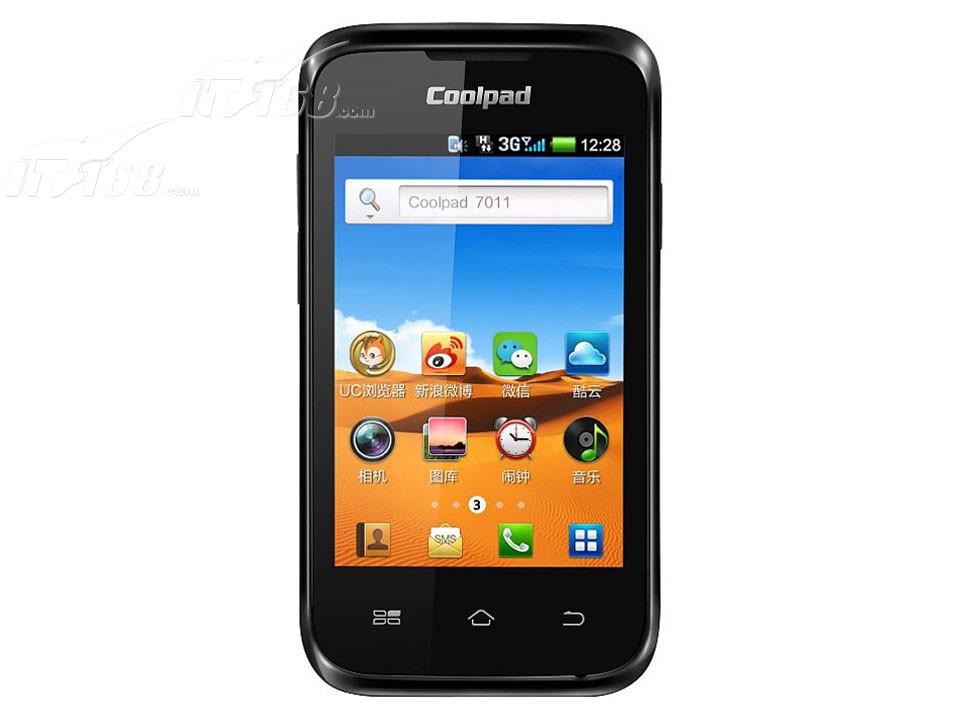 酷派7011手机产品图片1素材-it168手机图片大全