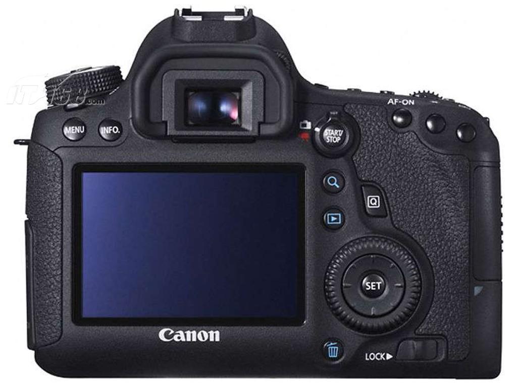 佳能eos 6d 单反机身液晶屏图片素材-it168单反相机