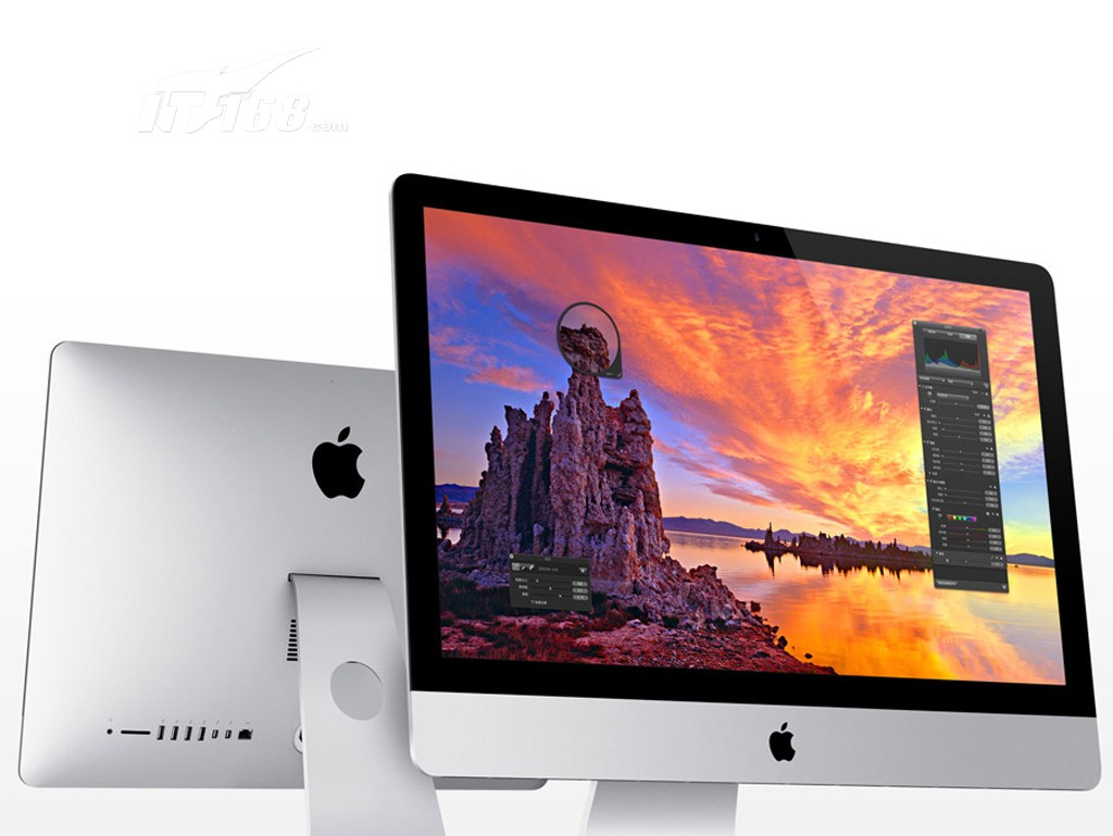 苹果imac(me089ch/a)一体电脑产品图片8素材-it168