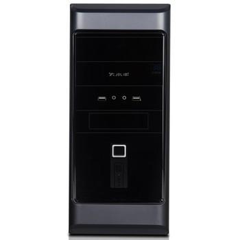 大水牛电脑机箱 经典-a1008灰黑色usb3