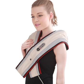 周林频谱按摩披肩颈肩乐按摩器按摩器产品图片2素材