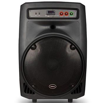 新科v18 户外广场拉杆音响 15寸大功率便携移动音箱迷你音响产品图片2