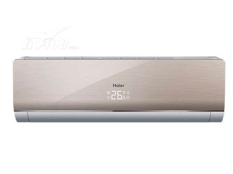 海尔kfr-35gw/07nfa22a 1.5匹挂式冷暖变频空调(金色)空调产品图片1