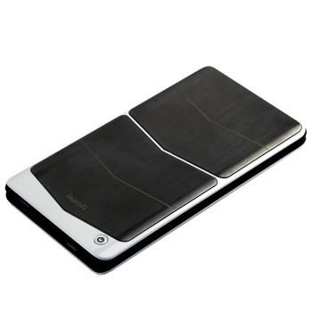 苹果授权mfi认证移动无线充电板6000mah(具有充电宝功能)b1801c炫酷版图片