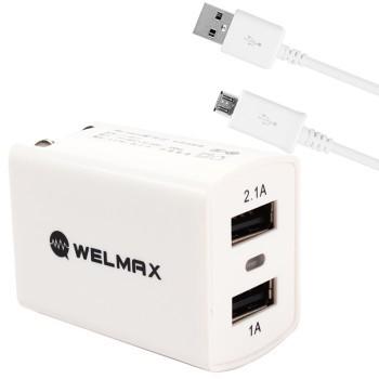 努比亚/魅族 经典白套装充电器/数据线产品图片1
