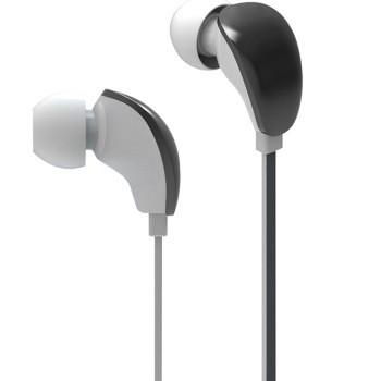 摩曼手机耳机u100 黑白色手机耳机产品图片1
