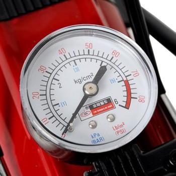 汽车轮胎用打气泵+胎压表胎压充气产品图片2