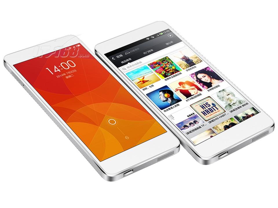 小米4 16gb 联通版3g手机(白色)手机产品图片2素材-it