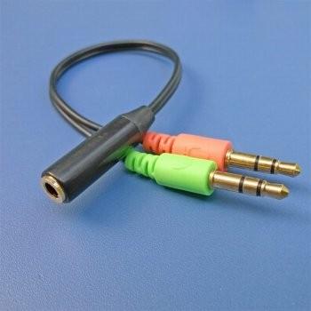 炬为手机耳机转接线/电脑音频转换器