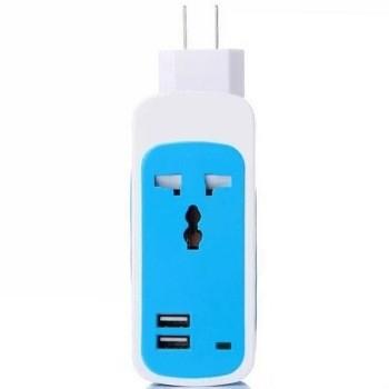 易思博usb输出电源转换插座插排 多功能充电器 苹果 三星 小米手机