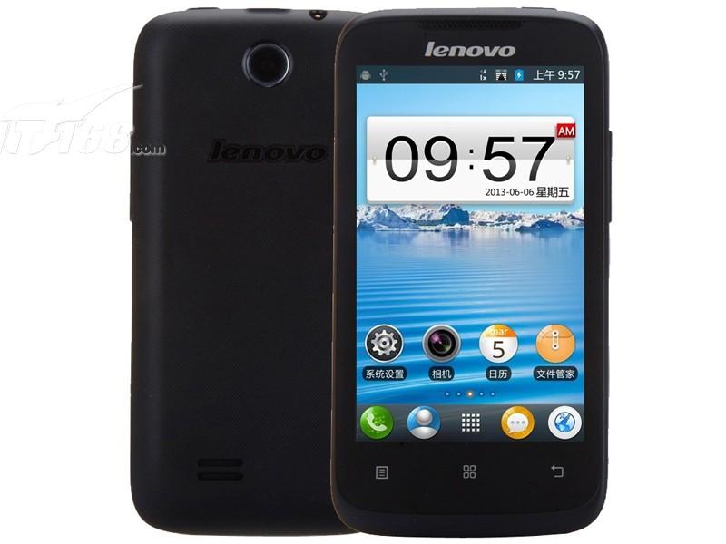 联想a360e 电信版3g手机(深邃黑)手机产品图片2素材