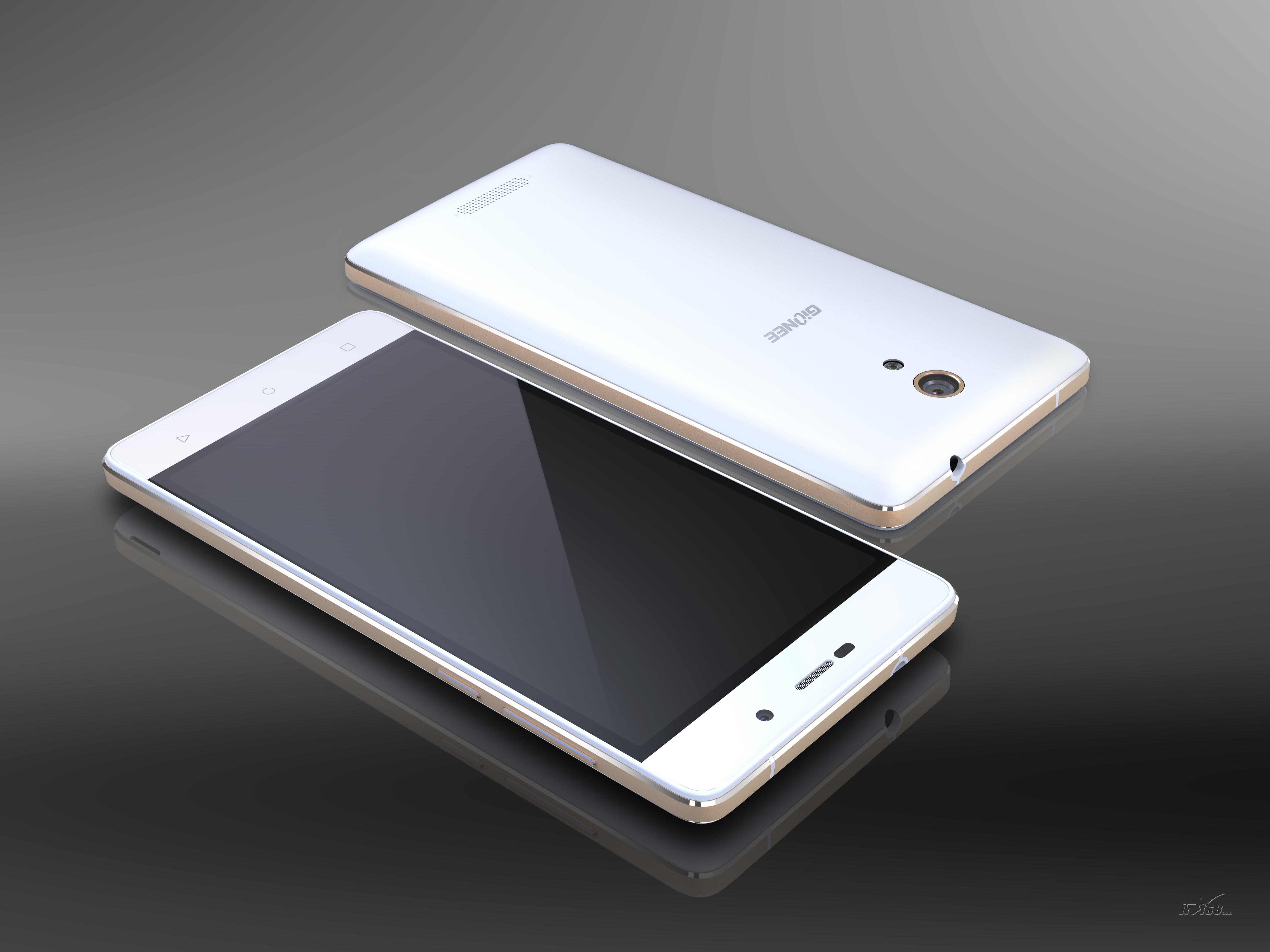 金立m3(金沙白)手机产品图片4素材-it168手机图片大全