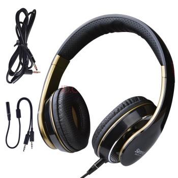 森麦手机耳机头戴式耳机线控 适用于苹果6三星小米魅族华为手机电脑