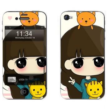 iphone5/5s屏保彩贴 手机保护膜高清彩膜