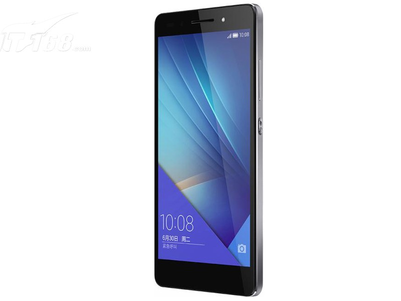 荣耀7 全网通版 典雅灰手机产品图片8素材-it168手机