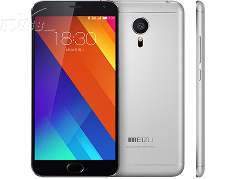 魅族mx5 联通 32g 灰色手机产品图片3素材-it168手机