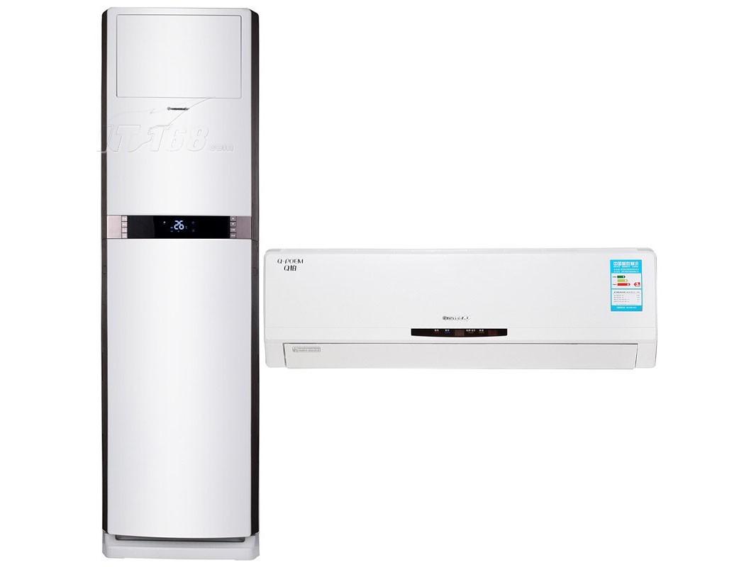 格力经典q铂系列空调套装【大1匹变频挂机+2匹变频柜机】空调产品图片