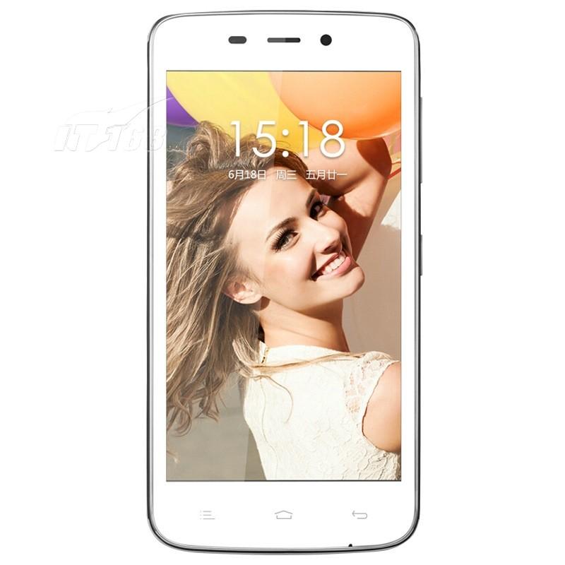 金立gn151 白色 移动4g手机手机产品图片2素材-it168