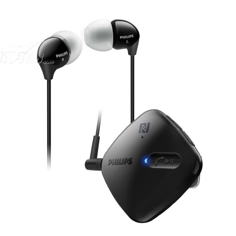 飞利浦shb5100bk蓝牙耳机产品图片1素材-it168蓝牙