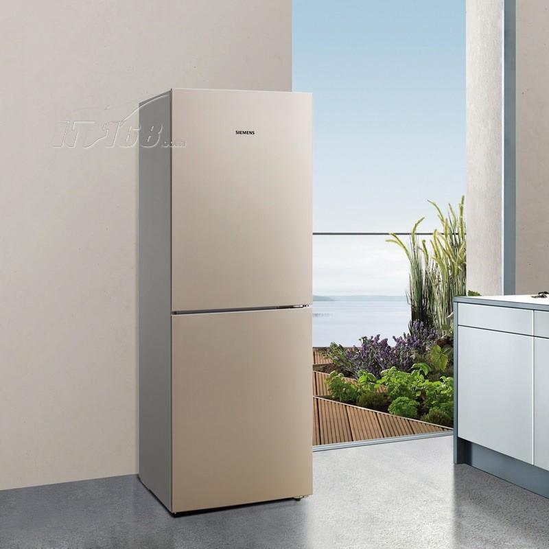 金色冰箱放客厅效果图