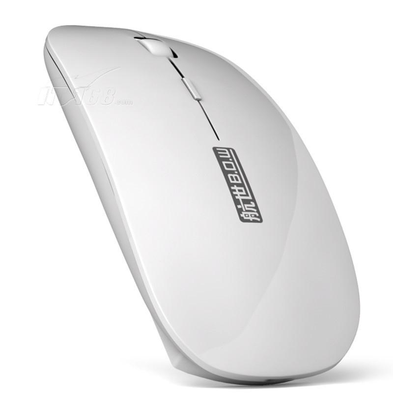 航世a10 无线蓝牙鼠标 白色鼠标产品图片2素材-it168