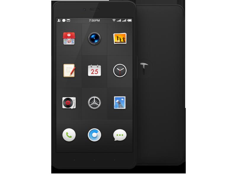 锤子坚果 16g 黑色版手机产品图片1素材-it168手机