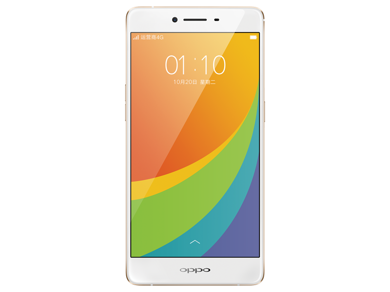 oppor7s 移动版 玫瑰金手机产品图片1素材-it168手机