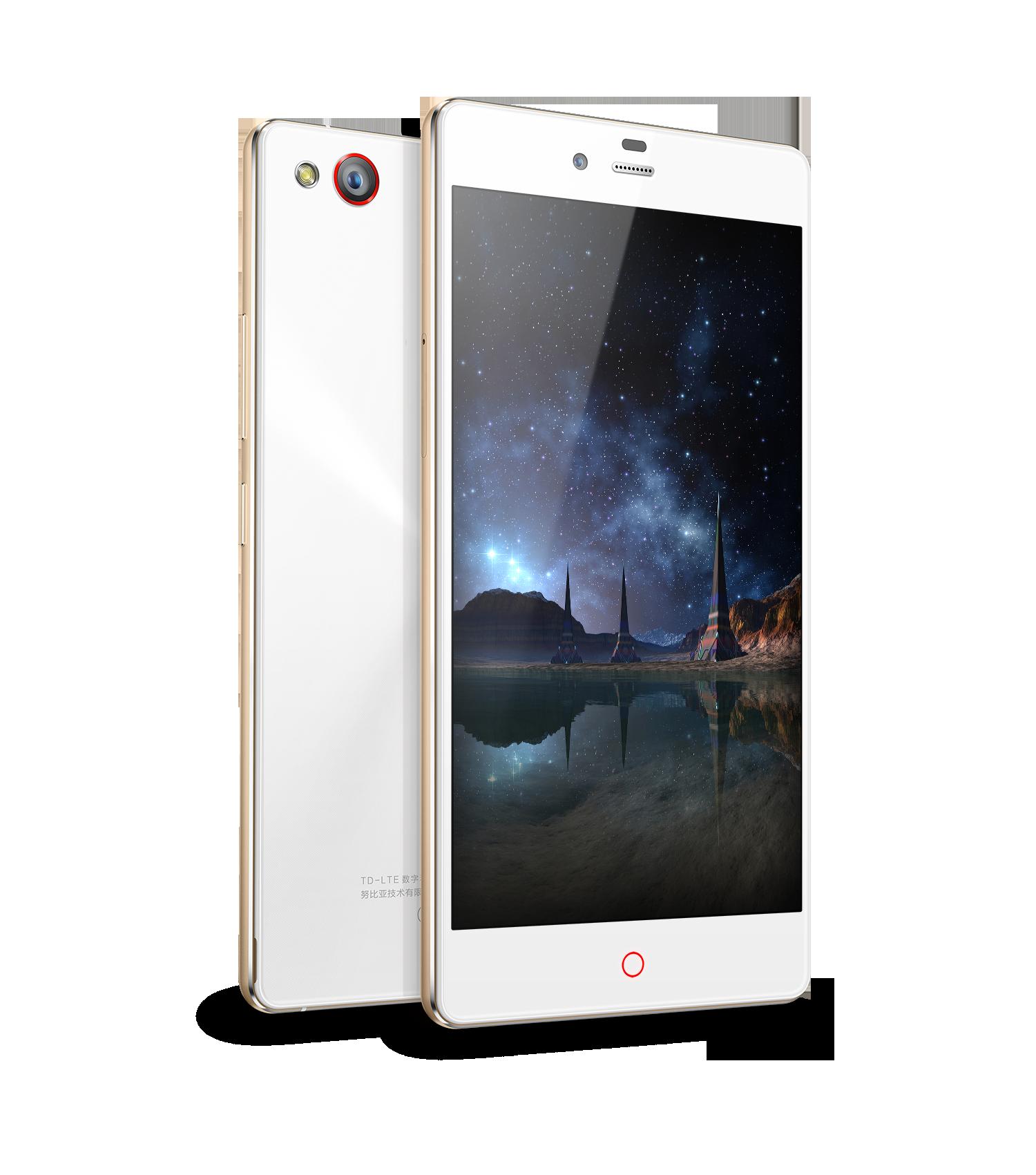 努比亚z9 mini 精英版 白色手机产品图片4素材-it168