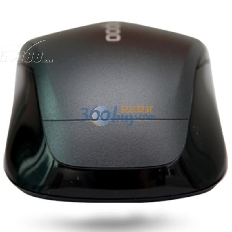 雷柏1030无线光学鼠标 灰色鼠标产品图片3素材-it168