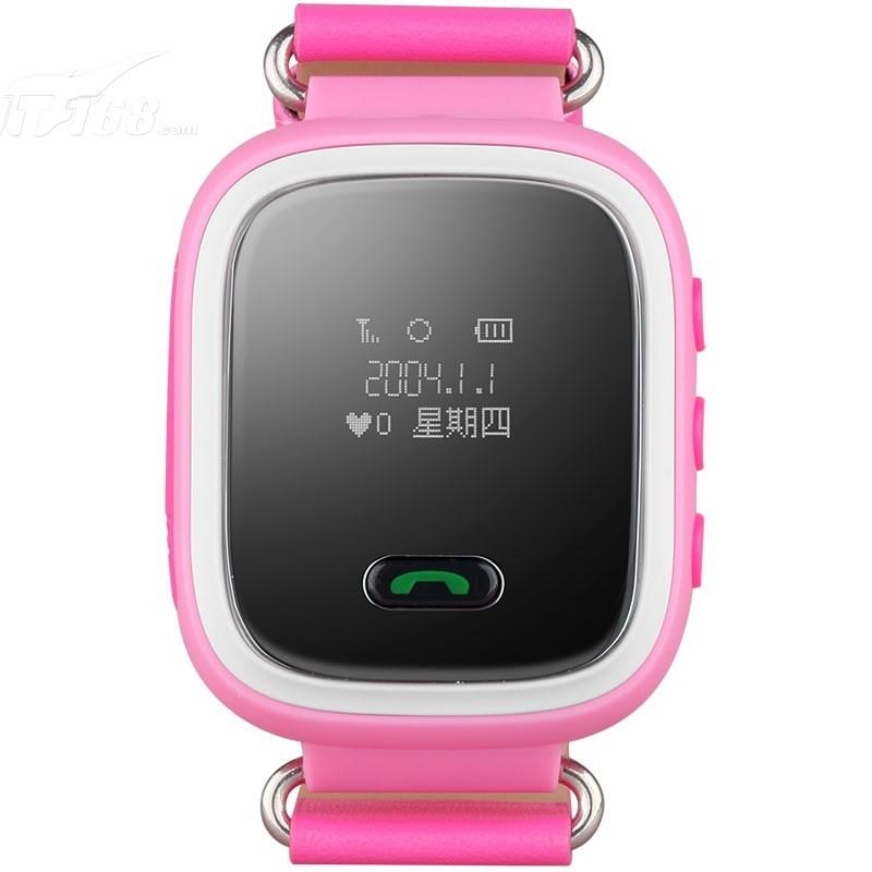 纽曼嗨嗨兔k2粉色 儿童电话手表智能穿戴手环