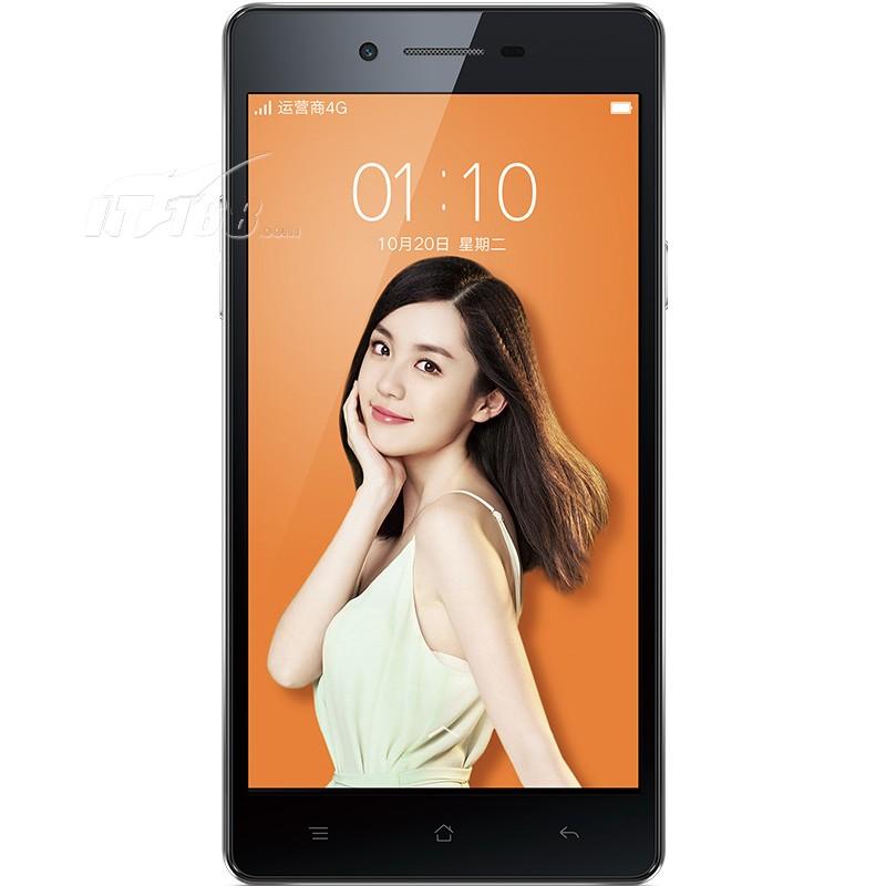 oppoa33 黑色 移动4g手机手机产品图片1素材-it168