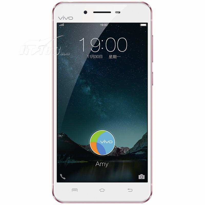 vivoX6 全网通 玫瑰金手机产品图片2素材