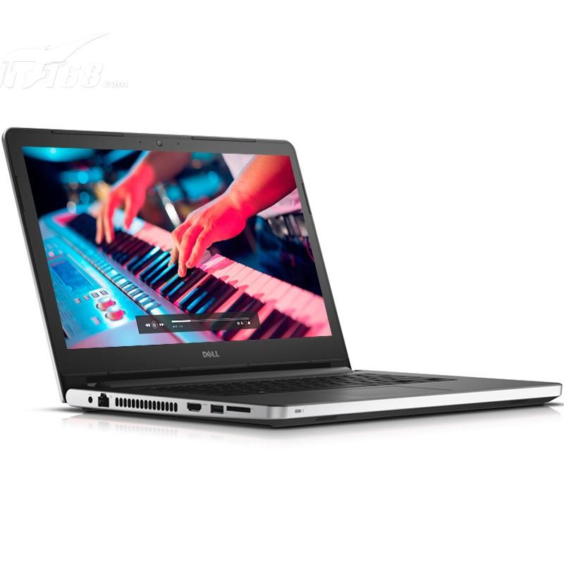 戴尔灵越5459 Ins14UR 3528S 14英寸笔记本电脑i5 6200U R5 M335 2G独显 DVD Win10 银笔记本产品图片2素材