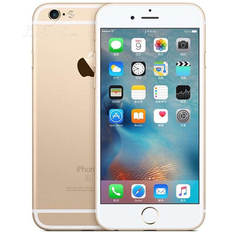 苹果iphone6s 16gb 公开版4g手机(金色)手.