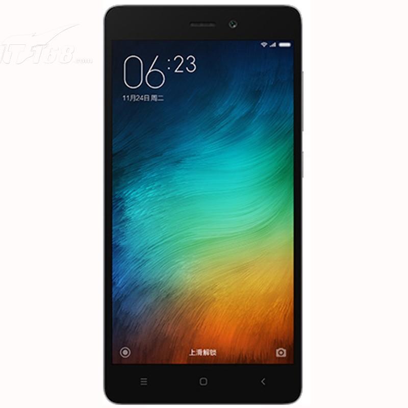 小米红米3 标配版 时尚深灰手机产品图片3素材-it168