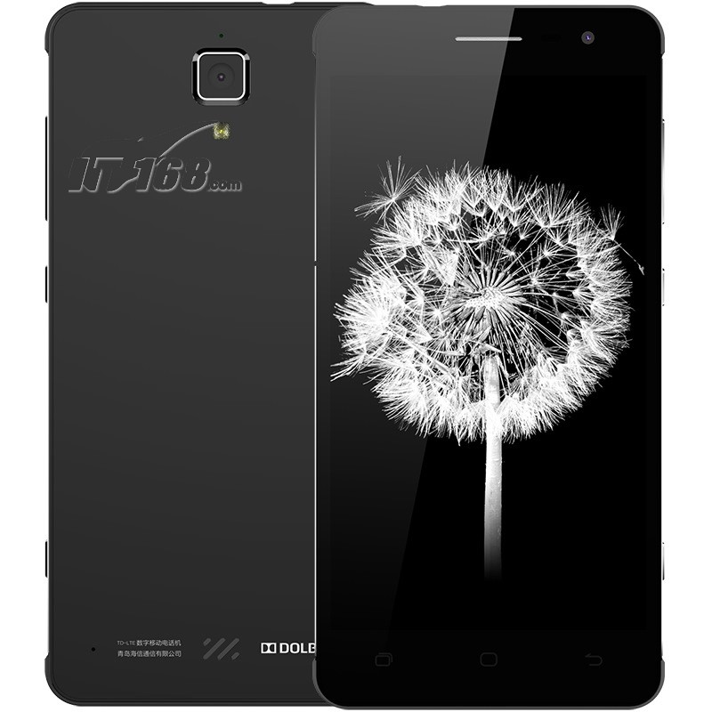 海信c20(金刚Ⅱ )爵士黑 全网通4g手机 双卡双待手机产品图片1