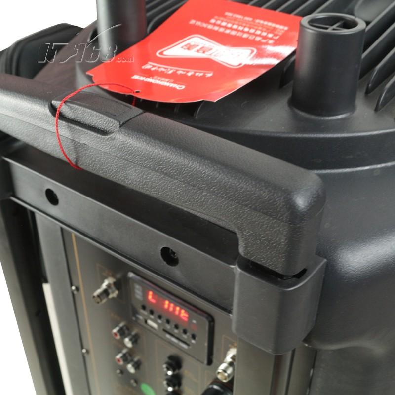 长虹cyd-1818 大功率电瓶户外广场舞拉杆音箱移动蓝牙遥控话筒可插卡