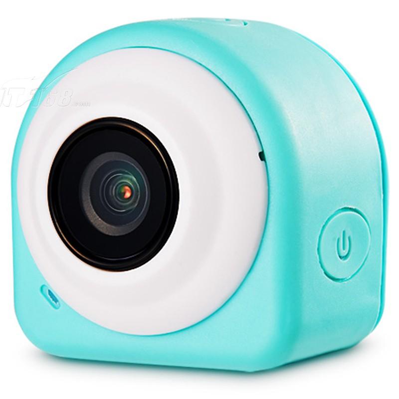 韩国现代微型可黏贴摄像头户外运动相机 蓝色运动相机产品图片2