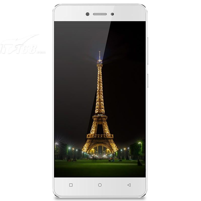 金立f100 韵银白外观图片5素材-it168手机图片大全