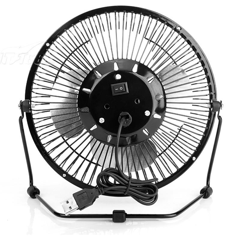 海纳斯fs-0612电风扇usb迷你4寸轻音小风扇便携创意桌面办公风扇电图片