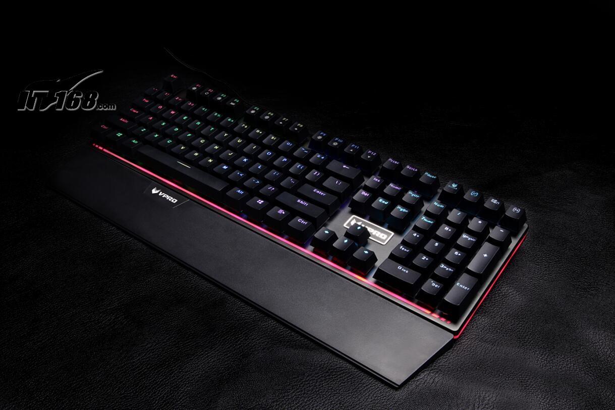 雷柏v720全彩背光游戏机械键盘键盘产品图片12素材-it