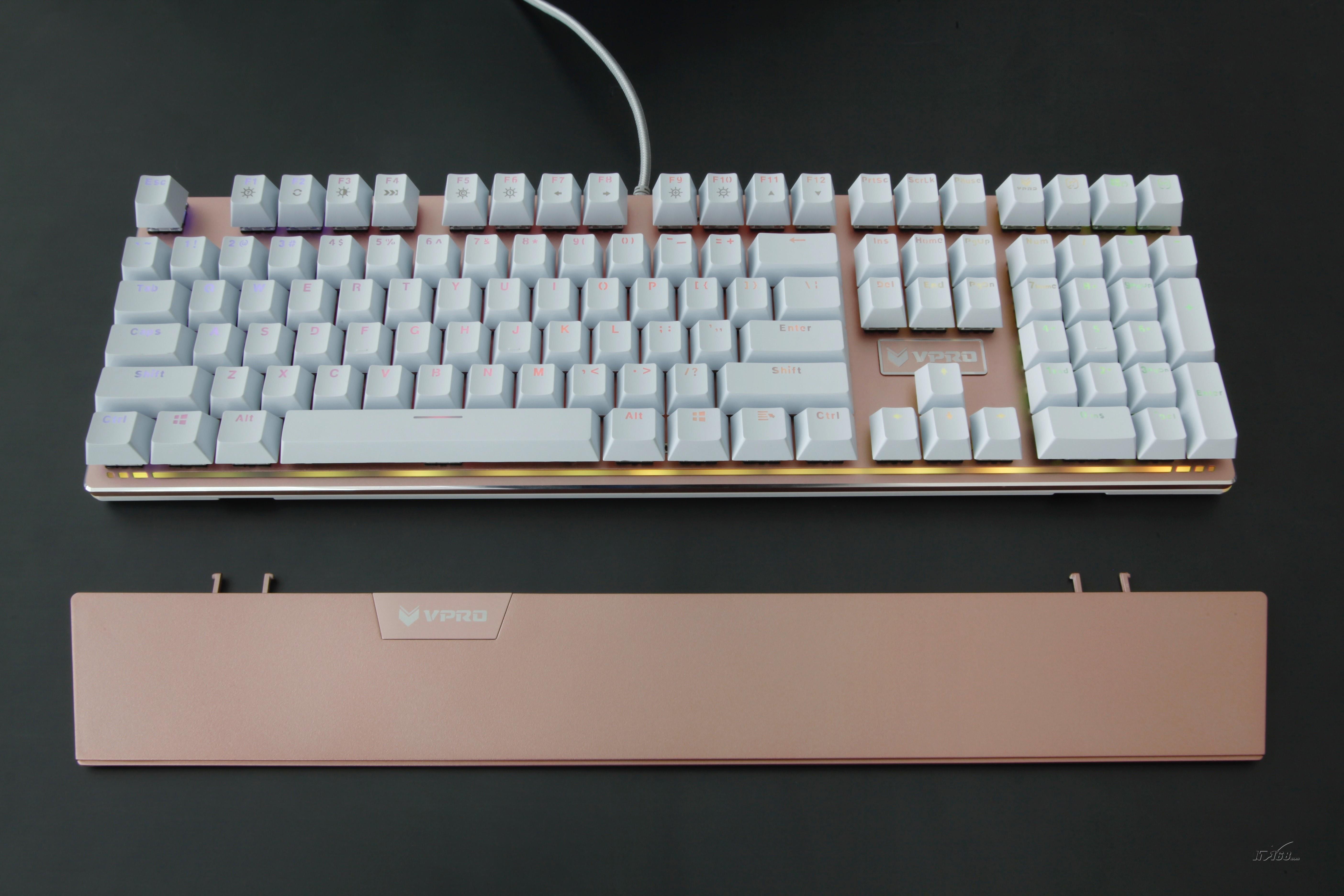 雷柏v720全彩背光游戏机械键盘键盘产品图片18素材-it