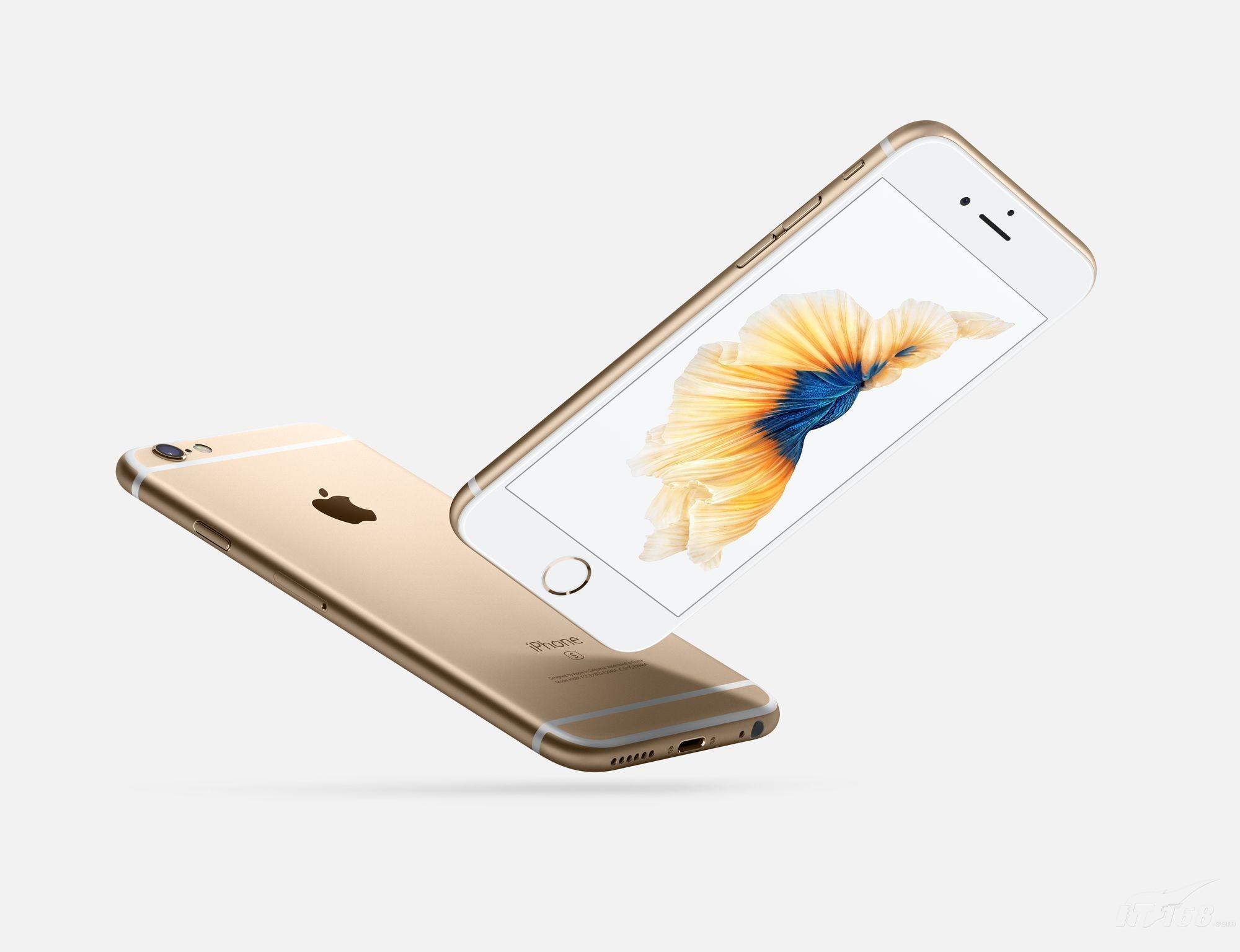 苹果iPhone 6s Plus 公开版4G 金色 外观图片2素材
