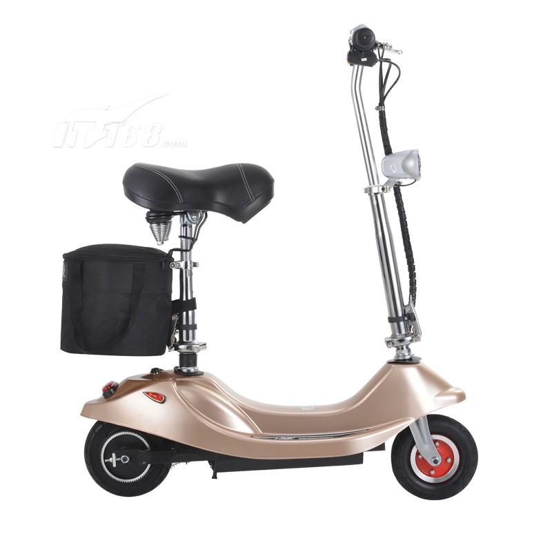 冰岚电动车 小海豚电动滑板车 迷你折叠车 都市小巧女士电动车自行车