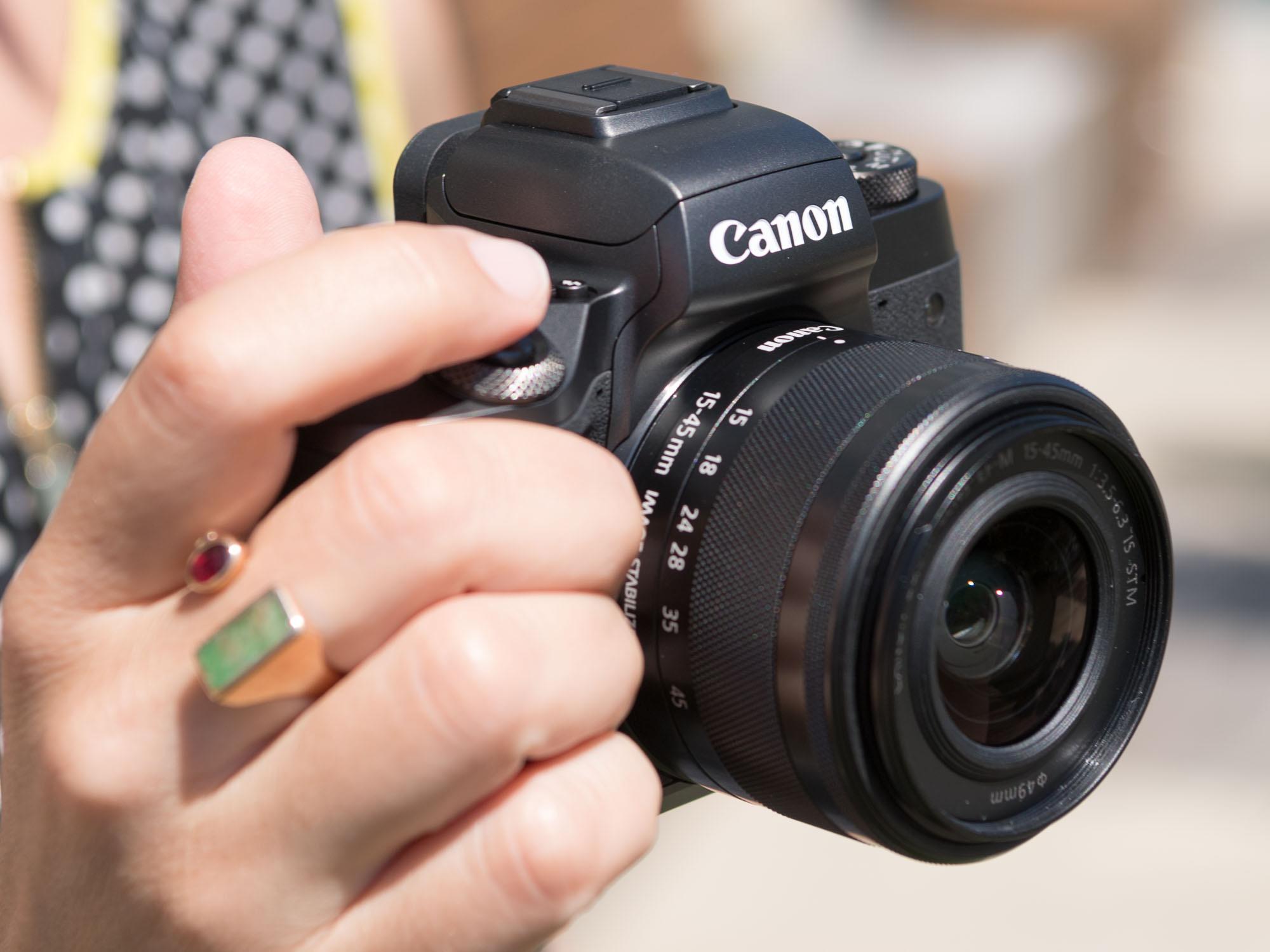 佳能eos m5 机身数码相机产品图片1素材-it168数码