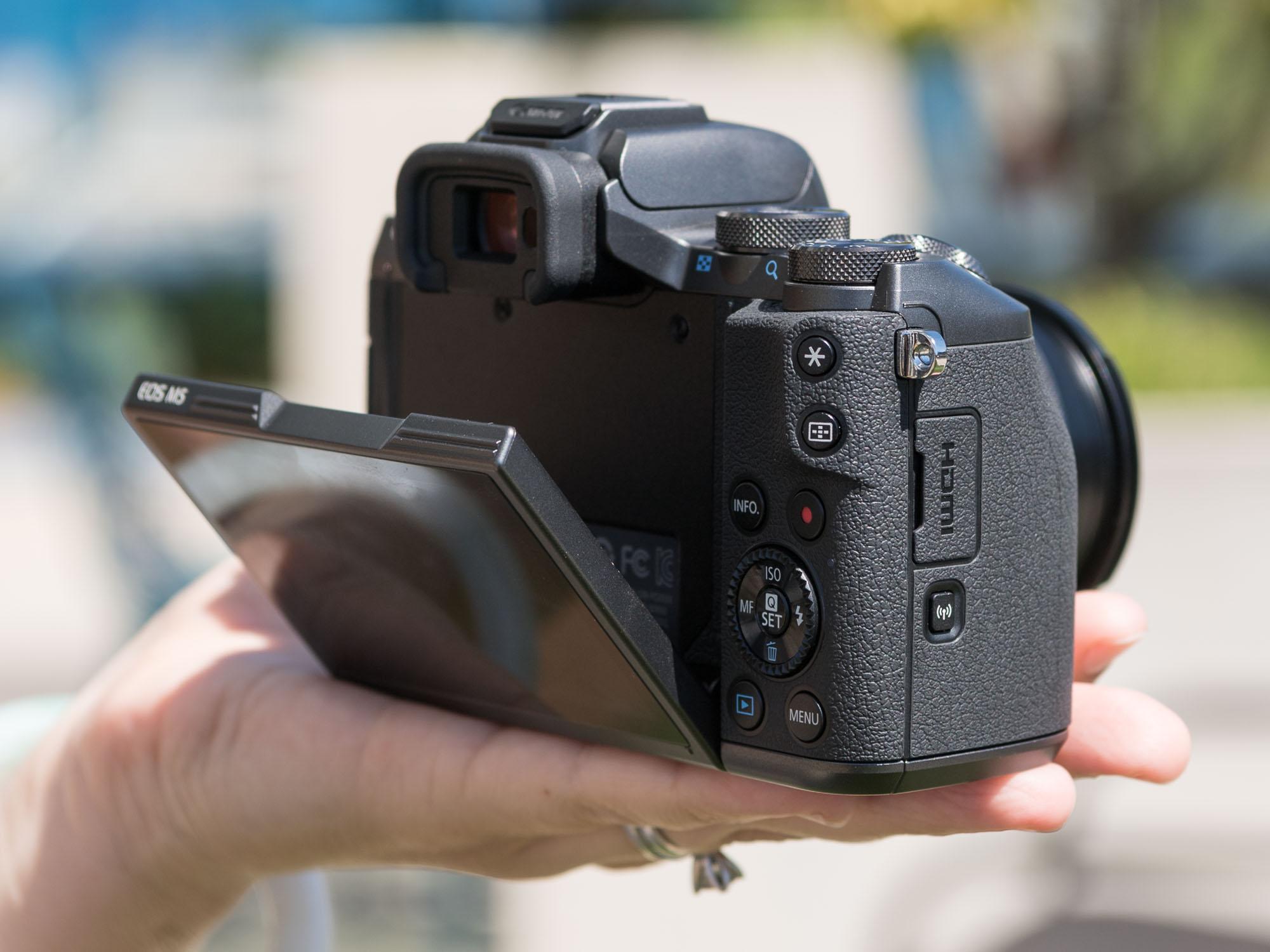 佳能eos m5 机身数码相机产品图片9素材-it168数码