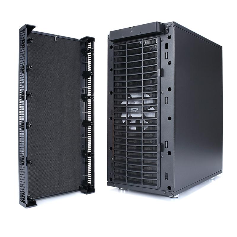 佛瑞克托设计define c 侧透机箱 黑色(支持atx/7个pci