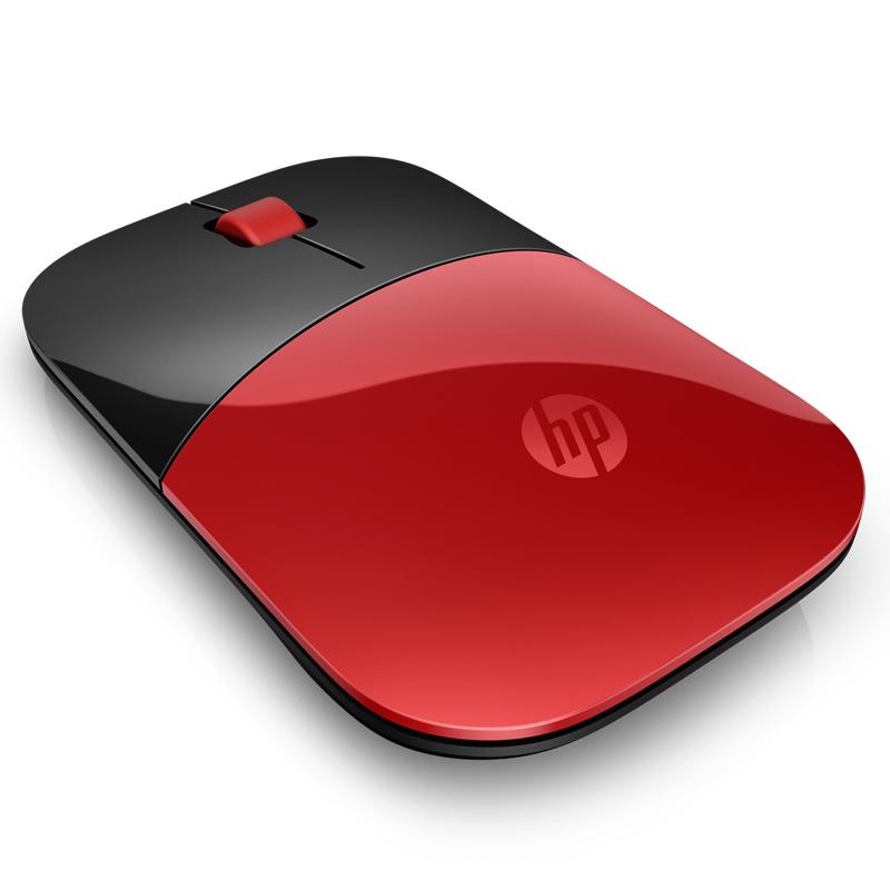 惠普z3700 无线鼠标 红色鼠标产品图片3素材-it168