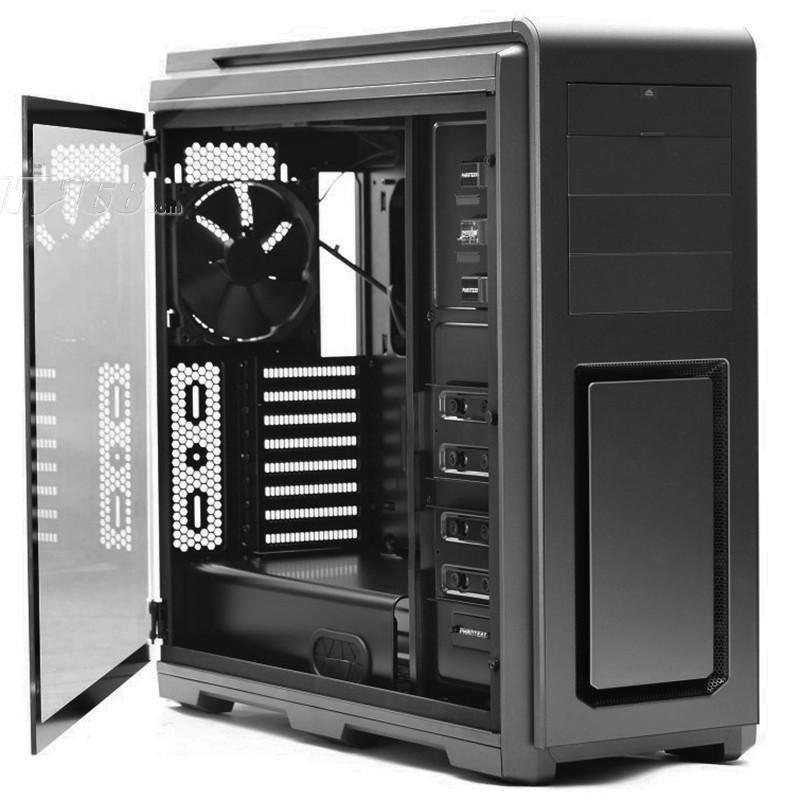 追风者614ltg 黑色 全塔式机箱(支持eatx双路主板/钢化玻璃全侧透/带r